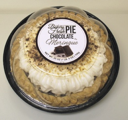 8 inch Chocolate Cream Pie