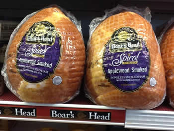 Boar's Head Applewood Smoked Spiral Sliced Ham